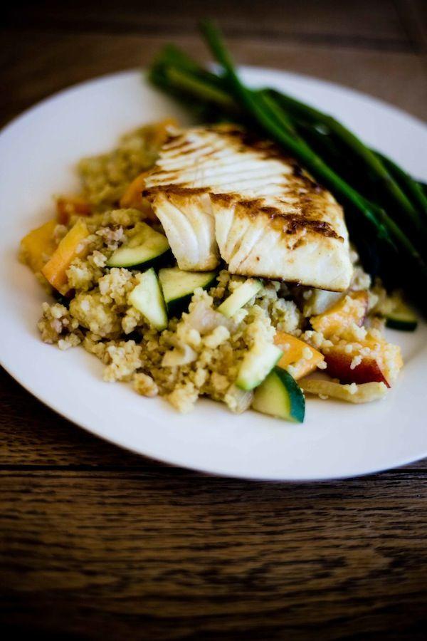 Vegan Fennel and Nectarine Millet Salad | Recipe