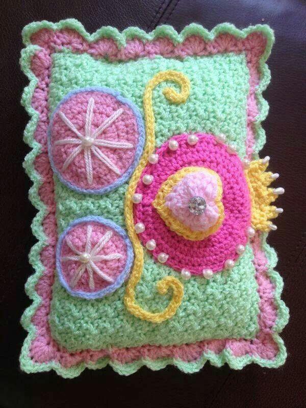 Crochet tooth fairy pillow so pretty crochet projects pinterest