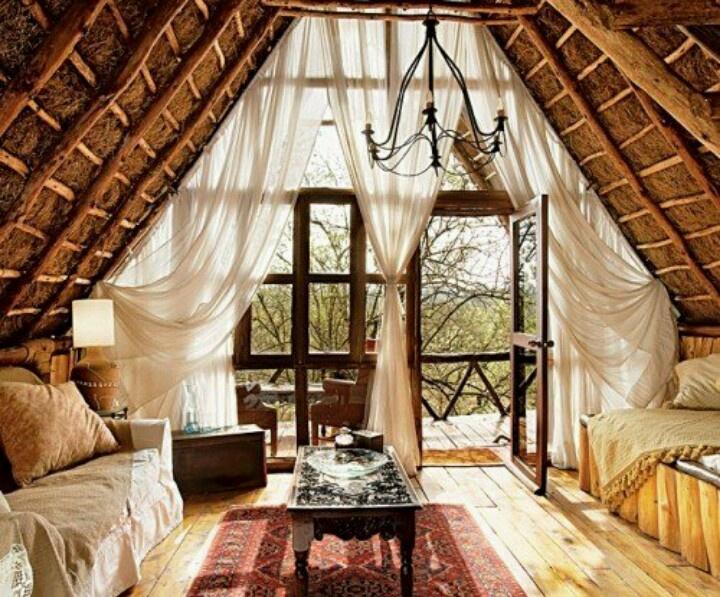Cozy Attic Room Favorite Places Spaces Pinterest