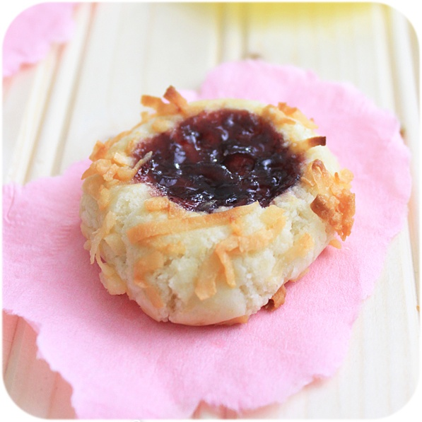 Jam thumbprints. The best cookies ever. | Eats and Drinks | Pinterest