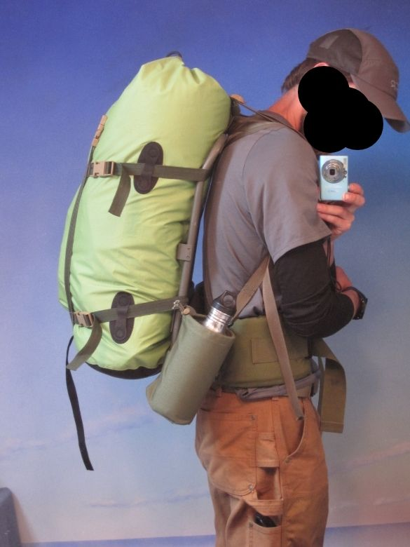 ALICE frame with drybag to add lift | ALICE/MOLLE/ILBE | Pinterest: pinterest.com/pin/373869206538198600