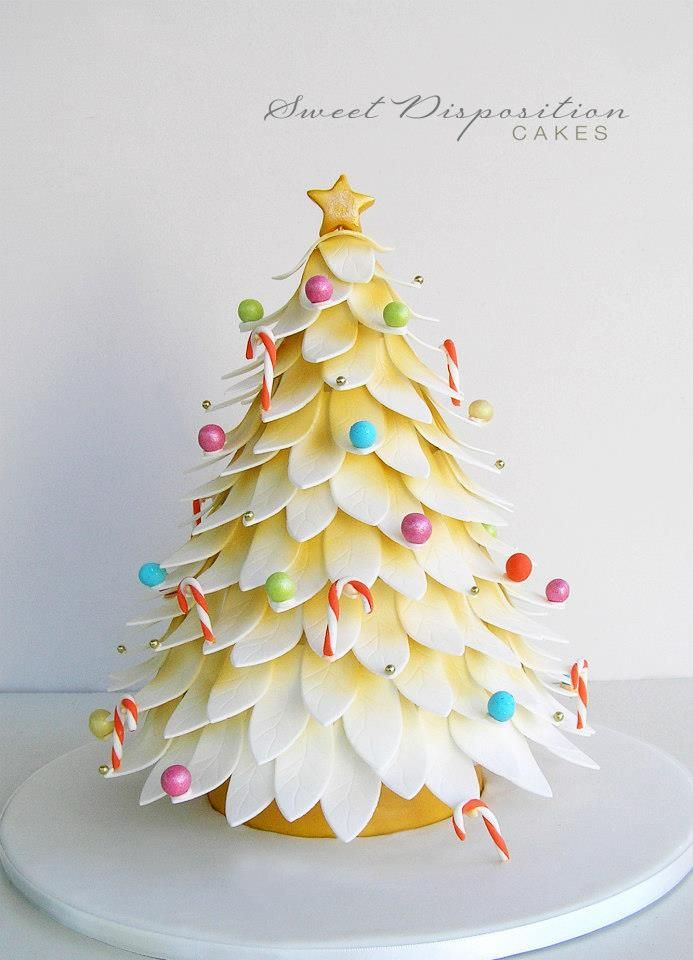 Christmas Tree Cake Cake Designs Pinterest
