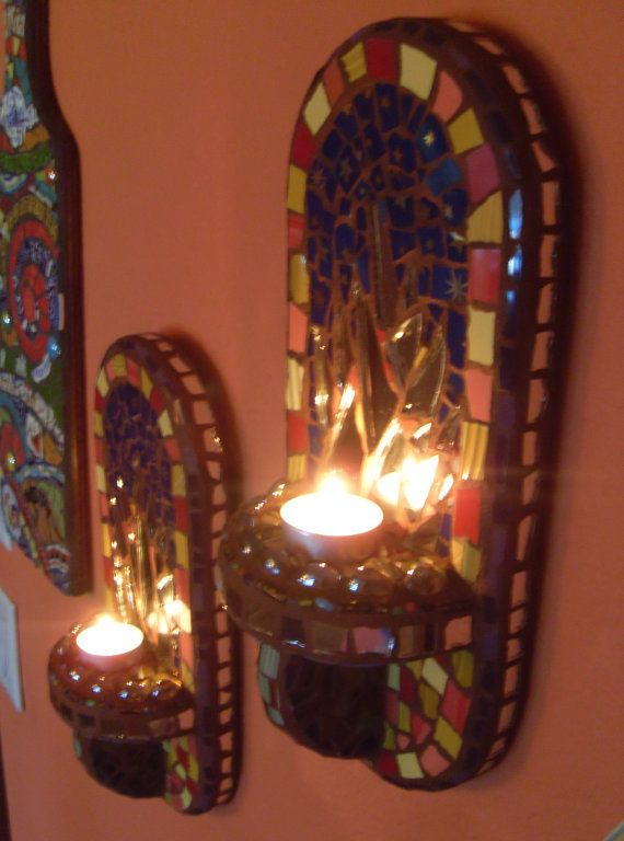 Wall Sconce Votive Candle Holder : 12