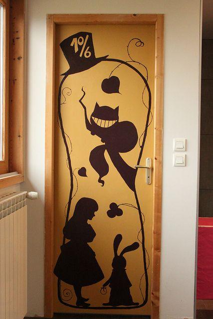 A way to wonderland alice in wonderland pinterest for Alice in wonderland kids room