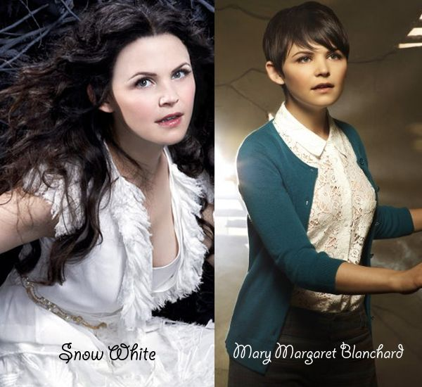 Once upon a time Snow White Mary Margaret makeup