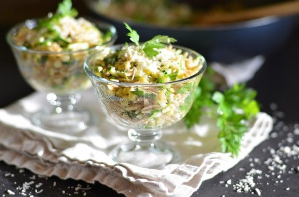 Orzo with Zucchini and Sweet Corn | Light Refreshments & Tea Please ...