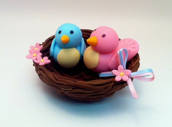 Cake With Fondant Bird : Pin by Maria Jose Munoz Llavero on fondant toppers Pinterest