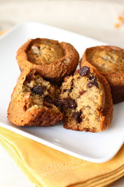 Banana Espresso Chocolate Chip Muffins- or bake 50-55 minutes in 9X5 ...