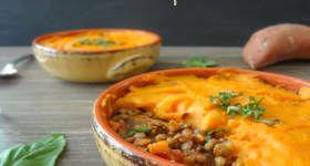 Lentil & Sweet Potato Shepherd's Pie   Recipes - Vegetarian ...