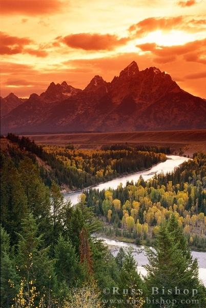 Wyoming - Grand Teton National Park :: Russ Bishop Photography