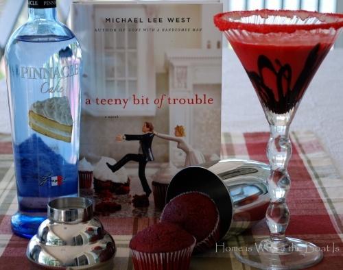 Red Velvet Cake Martini | Drink Recipes | Pinterest