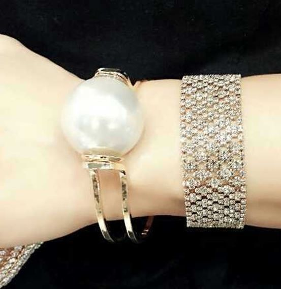 Simply Pearl Statement Cuff | LilyFair Jewelry, $19.99!