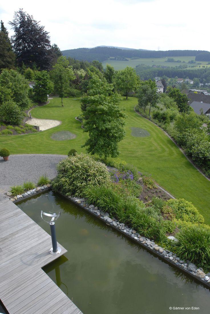 Gartengestaltung Wasser  Wasser im Garten  Pinterest