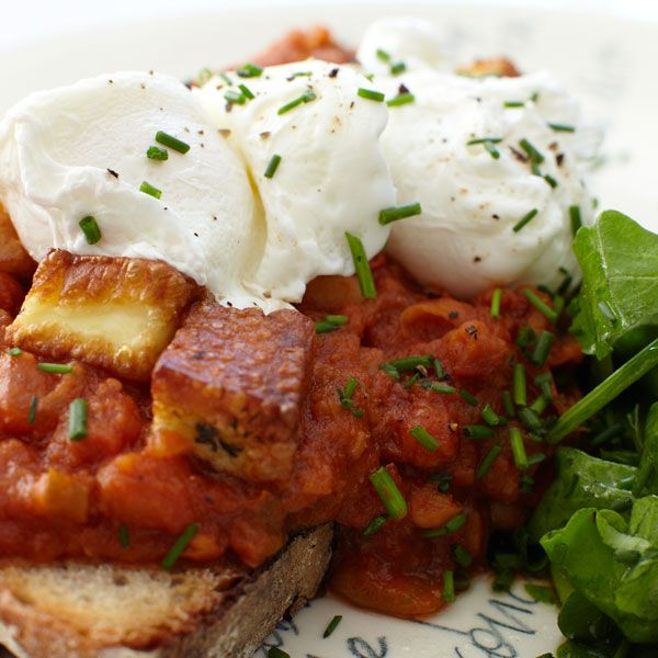 moroccan merguez ragout with poached eggs recipe on food52com mushroom ...