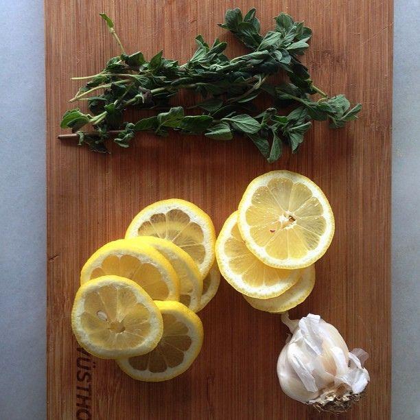 Lemon oregano chicken mise en place. by sassyradish, via Flickr