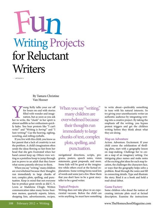 written projects