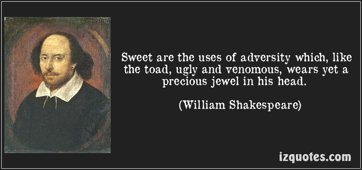 Essays on sweet are the uses of adversity