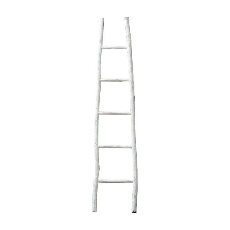 Wooden Ladder Shelf  dotandbo.com