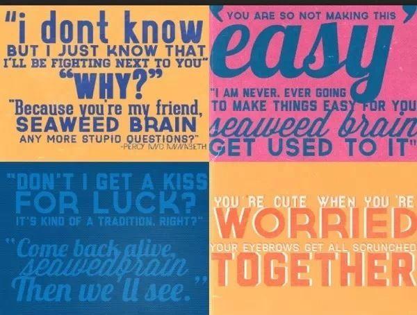 Percy Jackson Quotes Percabeth