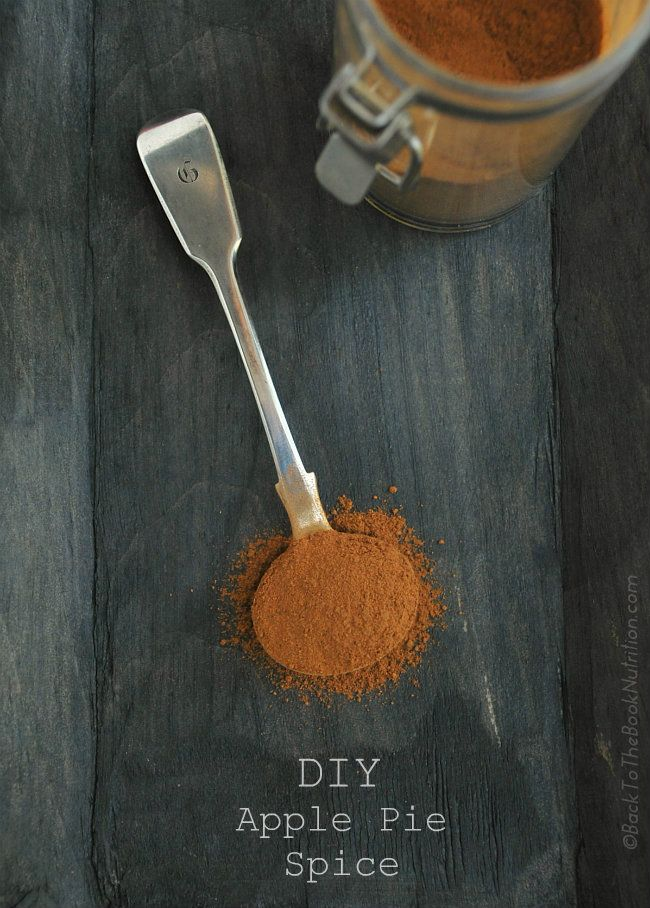 DIY Apple Pie Spice - 5 different spices give this DIY blend a depth ...