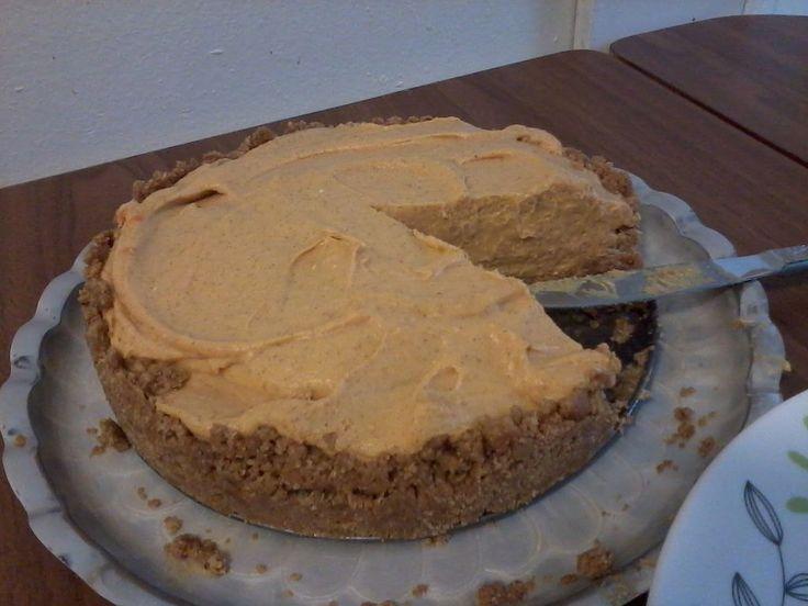 Easy no bake pumpkin cheesecake peacock pinterest