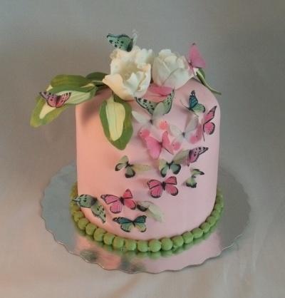Sissy's Birthday Cake By mamcki on CakeCentral.com