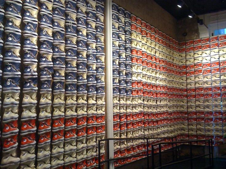 Converse Store, New York.