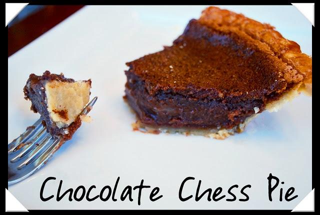 Chocolate Chess Pie | Recipes | Pinterest