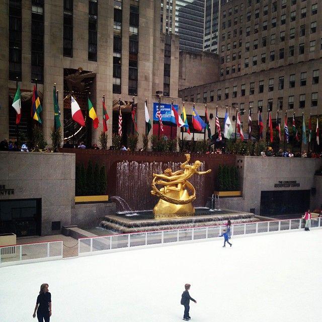 Rockefeller center skating rink places i d like to go pinterest