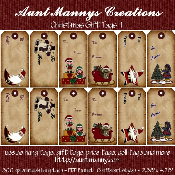 Christmas gift tags products i love pinterest for Christmas tags on pinterest