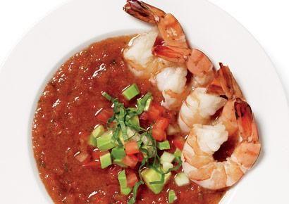shrimp gazpacho | Deliciousness | Pinterest