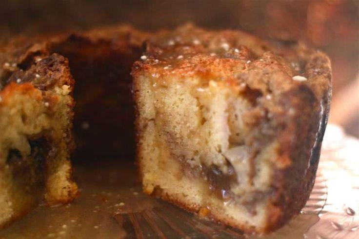 """Double Decker Peach Yogurt Coffee Cake by """"the seaside baker"""" Looks..."""