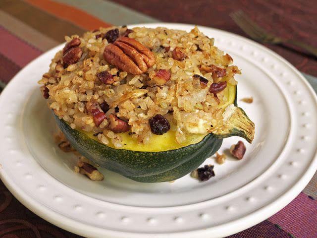acorn squash quinoa stuffed acorn squash acorn squash and honey pies ...