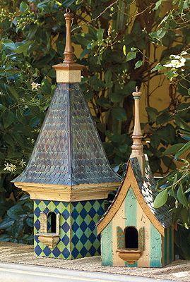 Blue Lagoon Birdhouse.