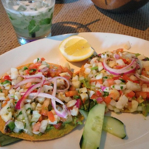 Ceviche Tostadas @ Gloria's | · Ready to Eat · | Pinterest