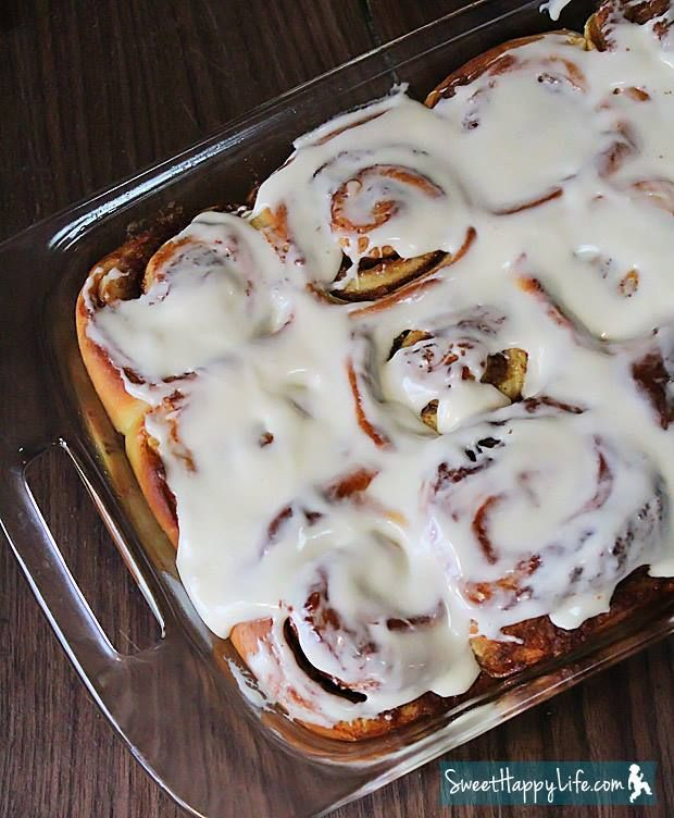 Overnight Cinnamon Buns   N!FY Desserts   Pinterest