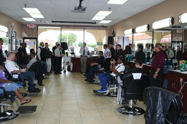 at Beauty Schools of America - Miami Campus Barber Classroom/Shop ...