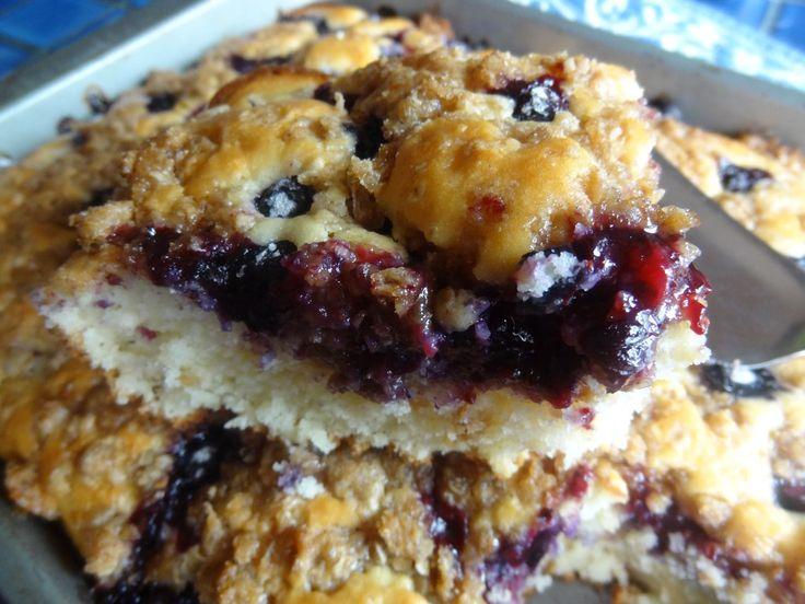 Blueberry Best Coffee Cake Recipe — Dishmaps
