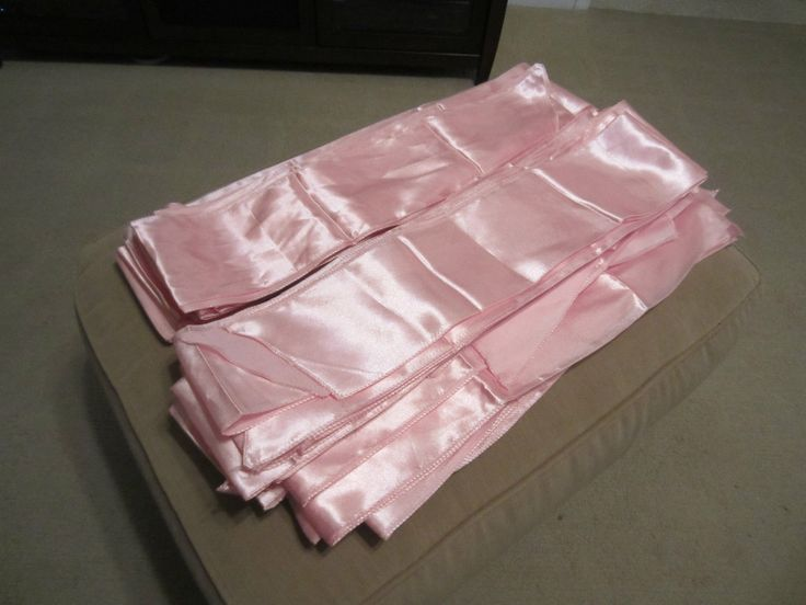 50 pink chair bows sashes m amp d wedding july 2014 pinte