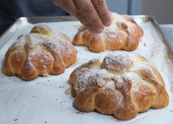 Pan de Muerto | Bread Recipes and All Things Yeast | Pinterest