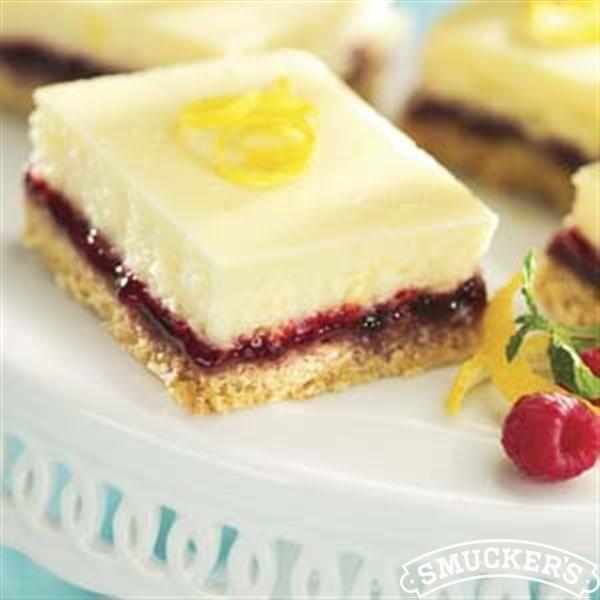 Lemon Raspberry Cheesecake Squares for Easter dessert. A wonderful way ...