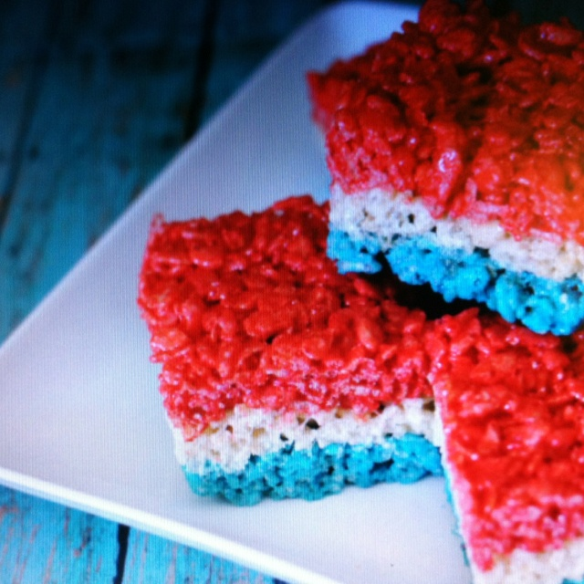 fourth of july pudding desserts