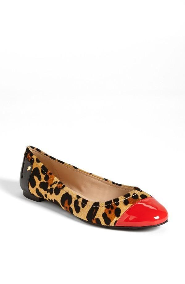 Nordstrom leopard flats #shoes