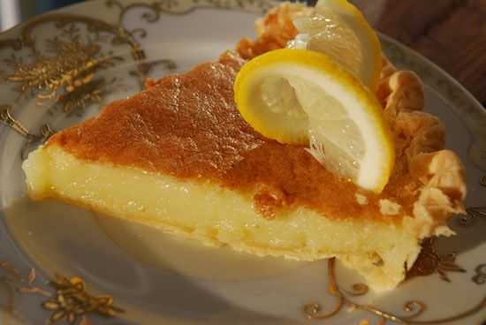 Sweet Tea Lemon Chess Pie Recipes — Dishmaps