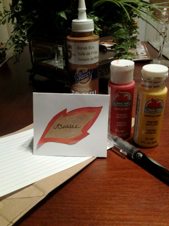 Thanksgiving Place Cards...Super easy & inexpensive to make! 1 index ...: pinterest.com/pin/483292603731905859