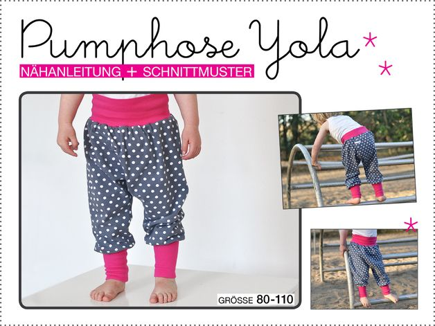 Pumphose Yola ° Schnittmuster Gr. 80-110