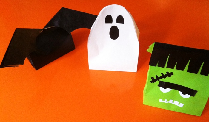 Crafty Halloween Goody Bags