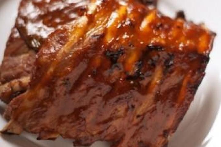 Bourbon-Glazed Baby Back Ribs | Grubbing! | Pinterest
