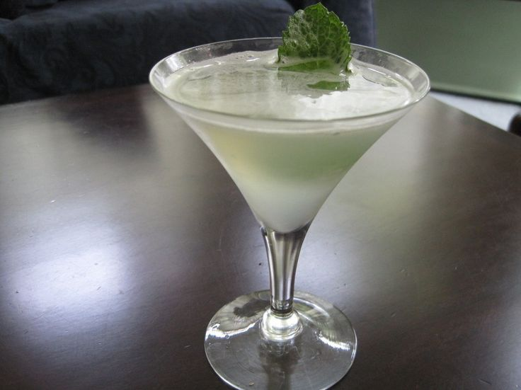 "Gojee - ""Southside"" by Cocktail Chronicles--lemon, mint, and gin!"