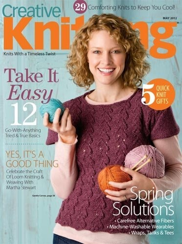 Creative Knitting Magazine Subscription Annies Publishing, http://www ...